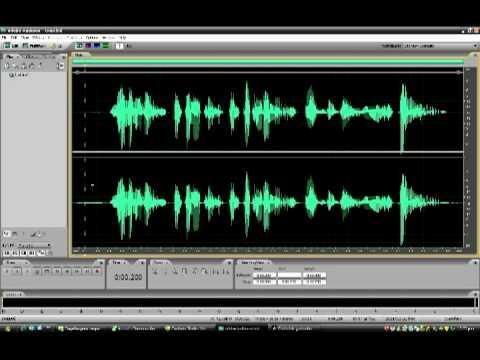 Grabando una buena voz en AUDITION (home studio)
