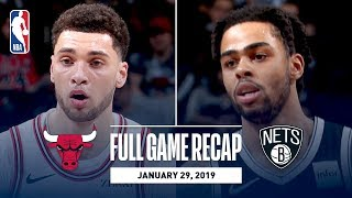 Full Game Recap: Bulls vs Nets | D'Angelo Russell Drops 30 And Dishes Out 7 Assists