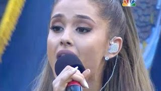 Ariana Grande performing the National Anthem at the Seattle Seahawks game - NFL Football [HD]
