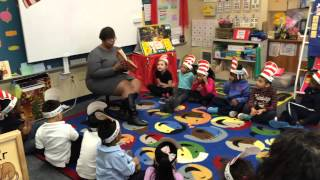 Thurgood Marshall Elementary School Read Across America