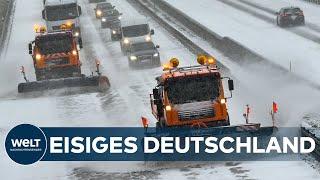#Flockdown - Eisige Kälte und Schnee: Ein extremer Wintertag in Deutschland