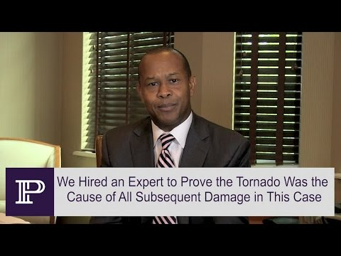 Insurance Company Initially Refuses To Replace Home Following Tornado – FL Attorney Paul  Perkins