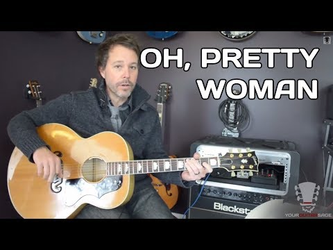 Baixar How to play Oh Pretty Woman by Roy Orbison Guitar Lesson