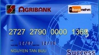 Thanh toán đơn nợ bằng thẻ Agribank Oriflame Power TV