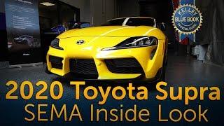 2020 Toyota Supra - SEMA Inside Look