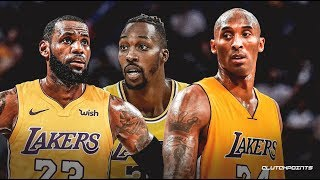Dwight Howard Reacts To Kobe Bryant Courtside, Wearing Kobe's Shoes & LeBron James' Leadership