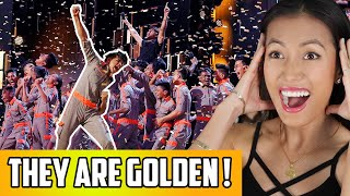 V Unbeatable - AGT Champions Golden Buzzer Reaction | Dance Crew From India On America's Got Talent!