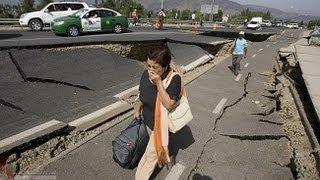 الزلزال لحظة بلحظة بالصوت والصورة ، وكأنك معهم !