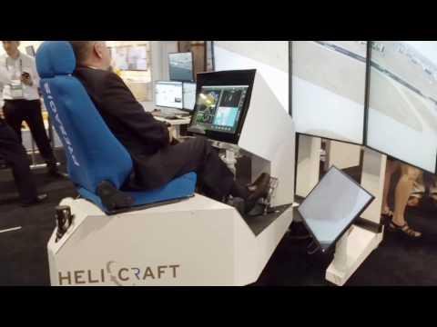 Presagis HELICRAFT as seen at I/ITSEC 2016