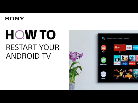 How to Restart or Factory Reset your Sony Android TV