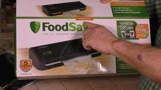 FoodSaver FM2000 Vacuum Sealer Review