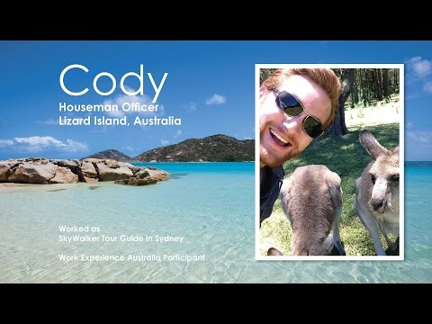 Take a Tour of Sydney With Work Experience Participant Cody.