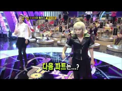 Boom&SeongJong(INFINITE) parodies SNSD:The Boys