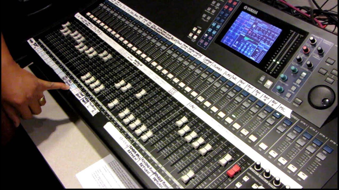 Yamaha Digital Mixing Console Ls9 32 Tutorial By Haniel