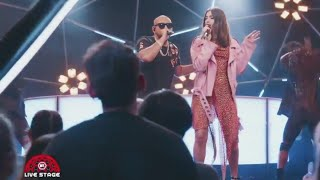 Sean Paul - No Lie Feat. Dua Lipa (On MTV LIVE STAGE)