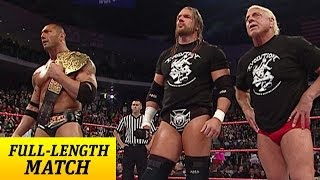 FULL-LENGTH MATCH - Raw - Evolution Reunion