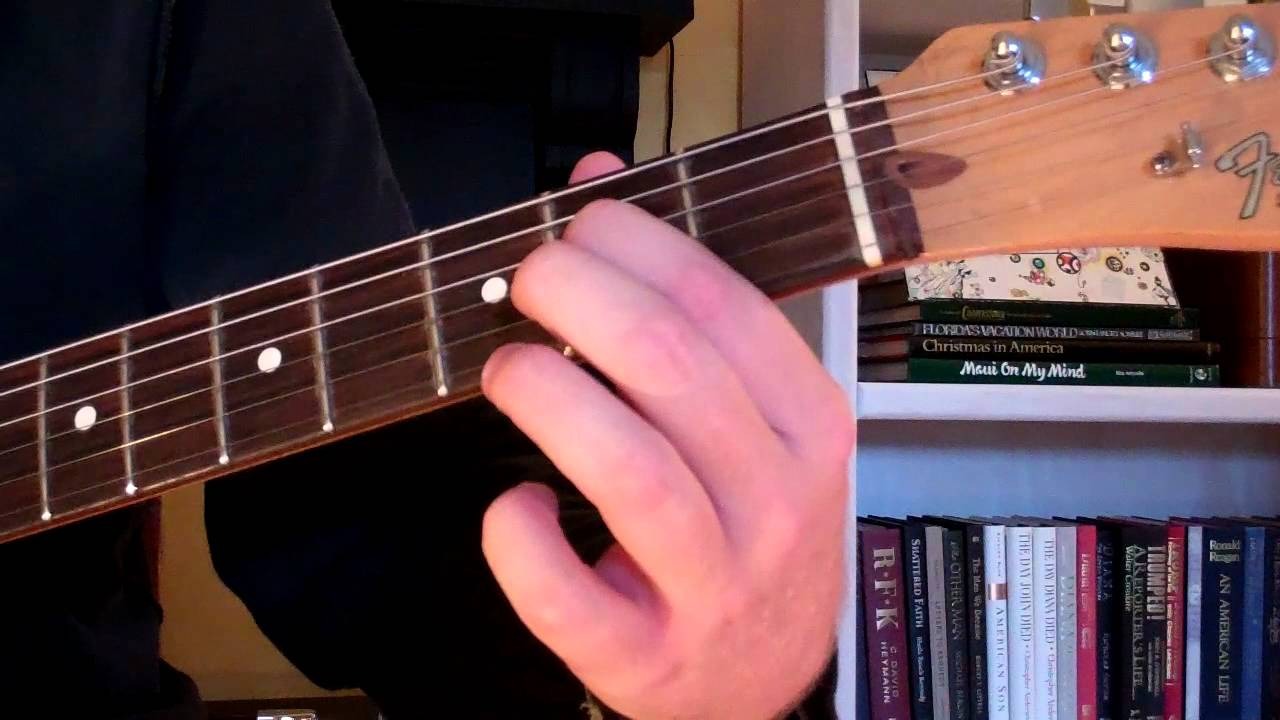 How To Play the A7sus4 Chord On Guitar (Suspended Chord ...