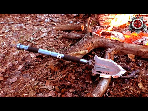 Survival And Camping Tool - The F-A3 Heavy Duty Folding Shovel 2019