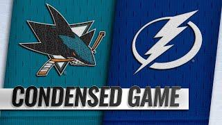 01/19/19 Condensed Game: Sharks @ Lightning