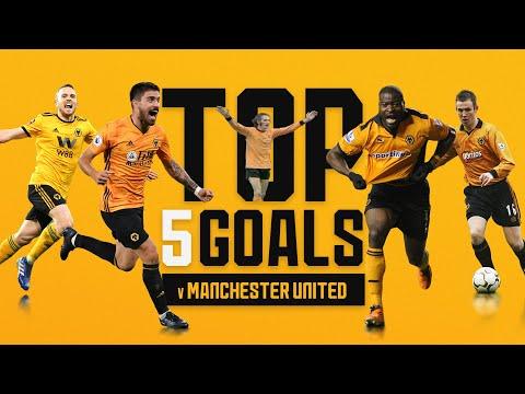 Neves, Jota, Elokobi! | Wolves top 5 goals against Man United