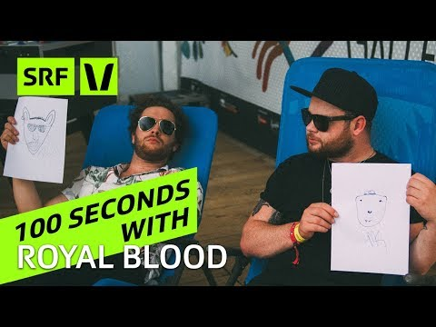 Royal Blood: 100 Seconds with Mike Kerr and Ben Thatcher
