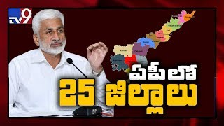 AP will have 25 districts soon after reorganisation: MP Vi..