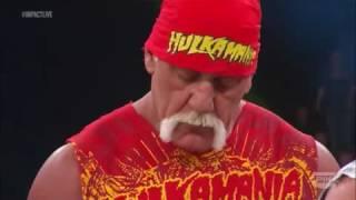 Sting returns and save Hulk Hogan