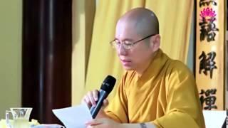 Quy luật tâm lý - Ngũ Uẩn 04 - TT. Thích Chân Quang