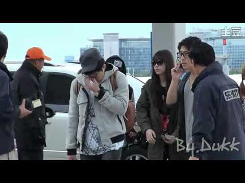 [FANCAM] 111022 f(x) - Incheon Airport To NYC