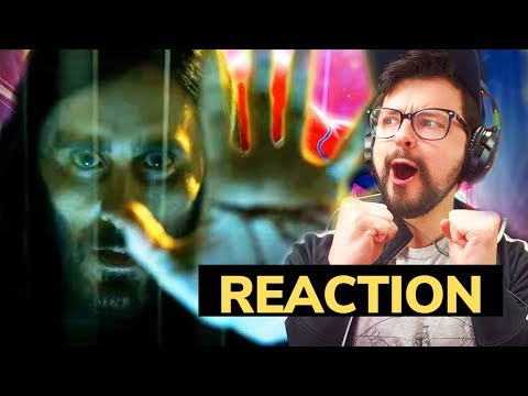 MORBIUS TRAILER REACTION & BREAKDOWN! MCU Connection??