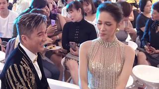 """Huong Giang lộng lẫy được song""""H"""" hộ tống tại sự kiện"""