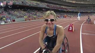 Cheri Blauwet - Para Track and Field - U.S. Olympic & Paralympic Hall of Fame Finalist