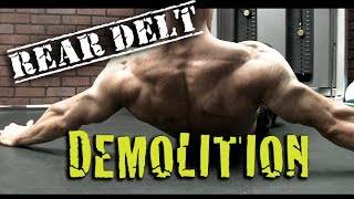 REAR DELTS in Just 4 MOVES - (Including NO EQUIPMENT options!)