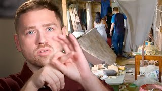 Man Tries To Move Family Into A Dump To Save Money