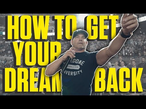 How to Get Your Dream Back- Grant Cardone photo