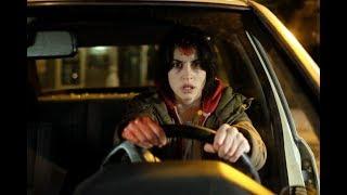 Cold Hell (2017) - Female vs Serial Killer - Taxi Fight Scene (1080p)