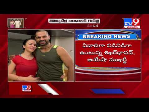 India opener Shikhar Dhawan gets divorced with Aesha Mukerji after 9 years of marriage