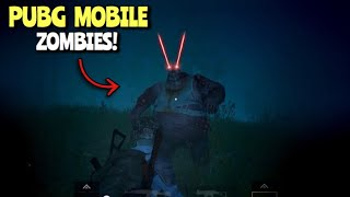 New Zombies Mode | PUBG Mobile | This Is Actually Fun xD