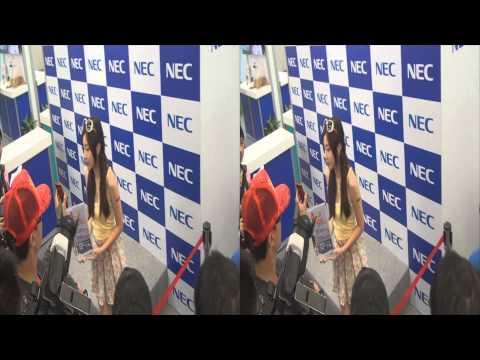 20130804 陳思穎(Zora) NEC 2013台北應用展 世貿一館 3D Ver.
