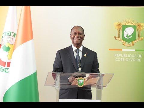 Déclaration du Président Alassane OUATTARA, à son retour à Abidjan, après le Forum Chine - Afrique