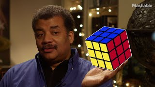 Neil deGrasse Tyson on solving the Rubik's Cube