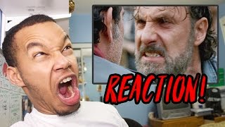 """The Walking Dead Season 7 Episode 16 """"The First Day of the Rest of Your Life"""" REACTION!"""