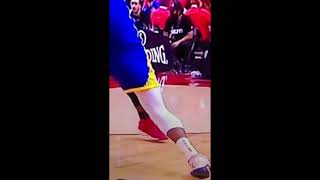 Watch Kevin durant leg something explode