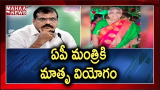 AP Minister Botsa Satyanarayana's mother passes away..