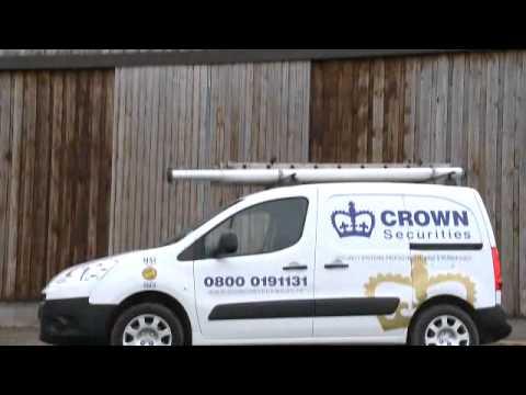 Burglar Alarms & Security Systems Crawley - Crown Securities (UK) Ltd