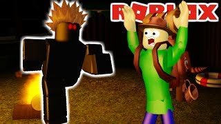 WILL CAMPING BALDI SURVIVE THE GIANT SHARK?!   The Weird Side of Roblox: Stranded