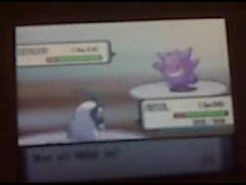 How to Get Gengar in Pokemon Diamond/Pearl/Platinum - YouTube