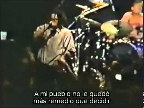 Rage Against The Machine - Darkness Of Greed ( Subtítulos en español )