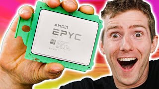 64 Core EPYC CPU – HOLY $H!T