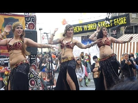 Gold Star Dance Company @ How Weird Street Faire (YT3D:Enable=True)
